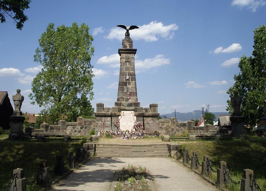 Monumentul Siculicudum, Siculeni, Harghita